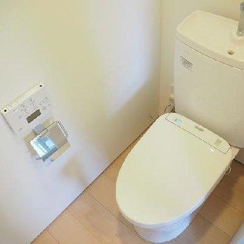 トイレです。※写真は同タイプの別部屋です