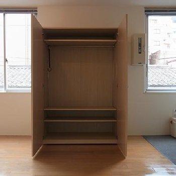 可動式クローゼット ※写真は似た間取りの別部屋です