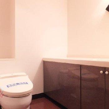 トイレはホテルのようです※203号室