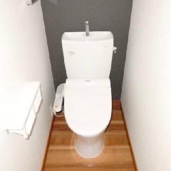 トイレ・ウォシュレット付き