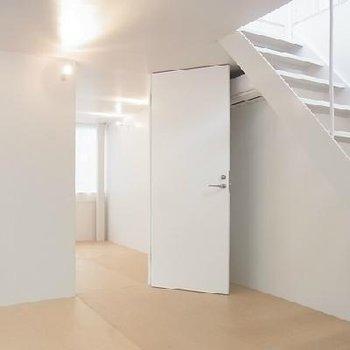 地下2部屋も明るいです。※写真は別のお部屋です