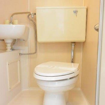 3点揃い踏みトイレ
