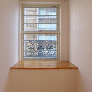 窓が可愛いな〜