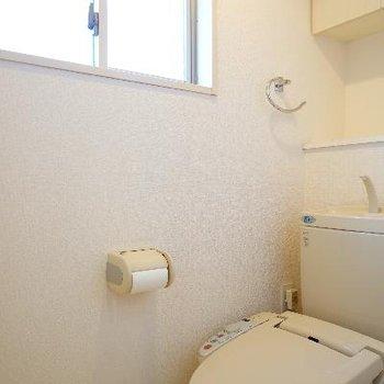 トイレにはウォシュレットと窓も◎