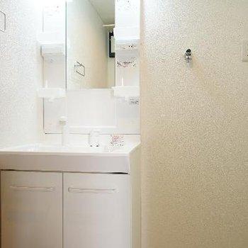 その前に独立洗面台と洗濯機置き場で動線もGOOD!!