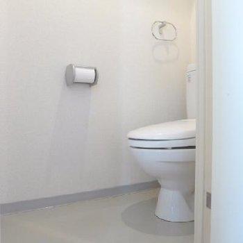 トイレも1階です