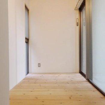 無垢床のお部屋。たったの3.2帖。