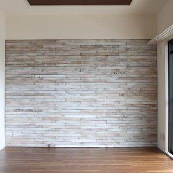 この壁がかっこいいんです!