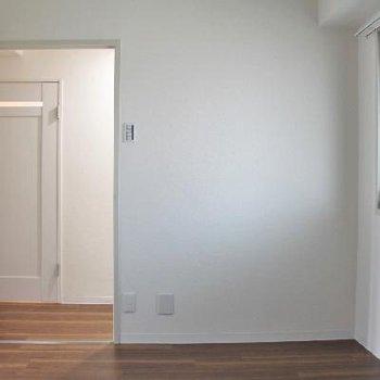 玄関側のお部屋。少し狭いけどあると嬉しい。