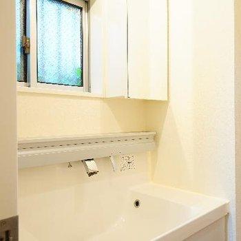 洗面台がとてもゆったり!
