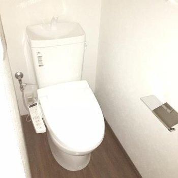 トイレの設備もバッチリ!