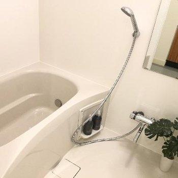 お風呂です!広さ深さバッチリです!
