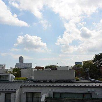 バルコニー側の風景
