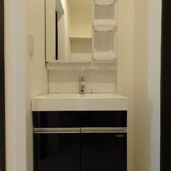 独立洗面台 ※写真は類似タイプの別部屋です