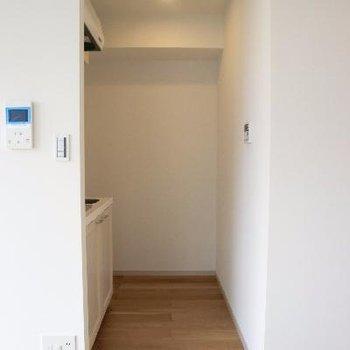 キッチンスペースは半個室♪