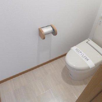トイレも清潔感◎