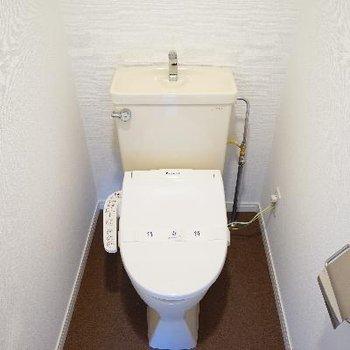 トイレはウォシュレットつきです!※写真は前回募集時のものです