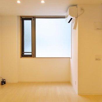 天井高のある空間です。