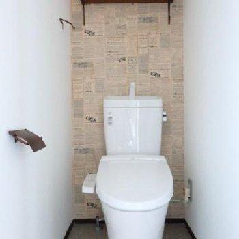 トイレにもウォシュレット付きです