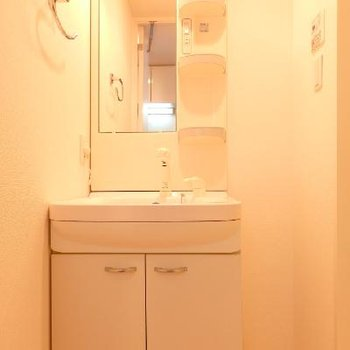 独立洗面台もあり