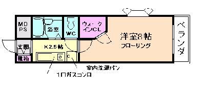 桜井15分マンション の間取り