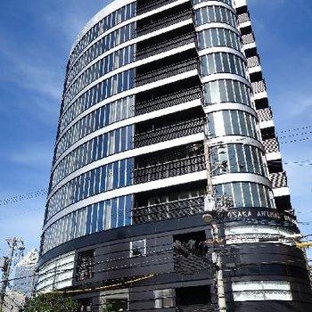 近未来的な外観のマンション!