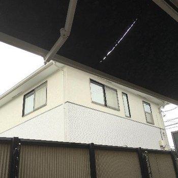 屋根も出すことができます※掲載写真は前回募集時のものです。