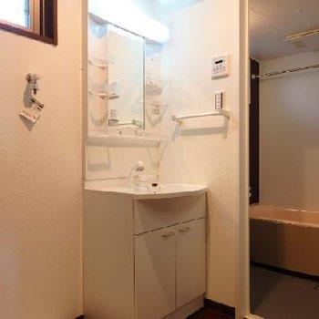 脱衣所・洗面台※写真は別部屋