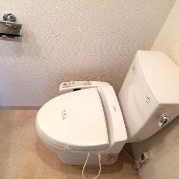 洗面台と同じスペースにあります