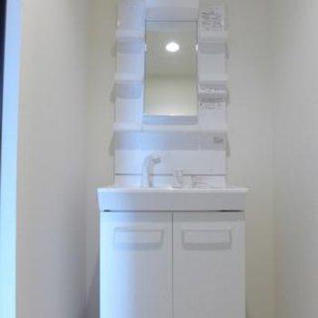 洗面台も大きく使い勝手good!