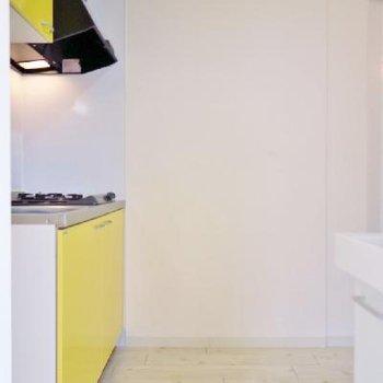 キッチン兼脱衣スペースなのは悪しからず。※写真は前回掲載時のものです。