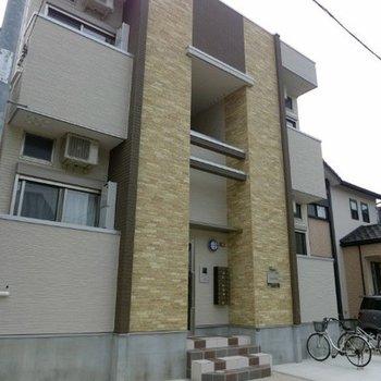 2階建て木造アパート
