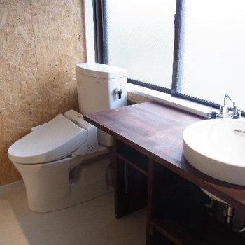 トイレも綺麗です!!