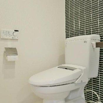 開放的トイレ!