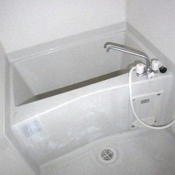 ちょっとコンパクトなお風呂。