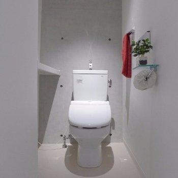 存在感のあるトイレ