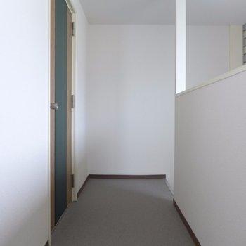 建物内に玄関