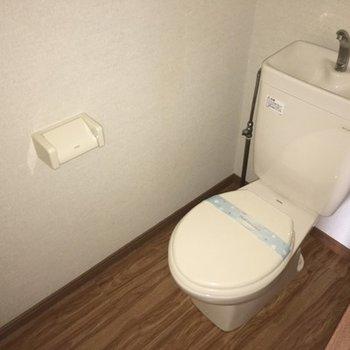 トイレもシンプル。