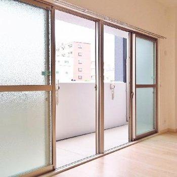 大きな窓の開放感〜!