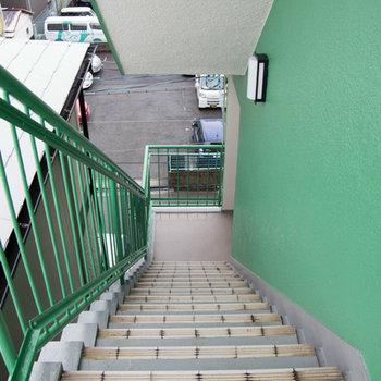 階段とのお付き合い