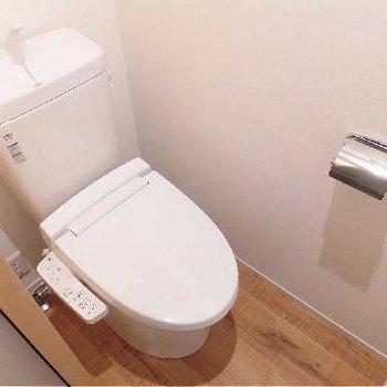 もちろんトイレは個室です