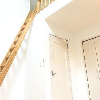 二階のロフト!結構高めでワクワクします