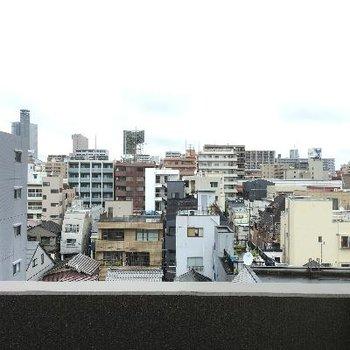 6階なので景色も良好