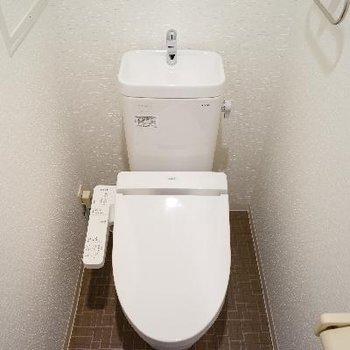 トイレはウォシュレット♪