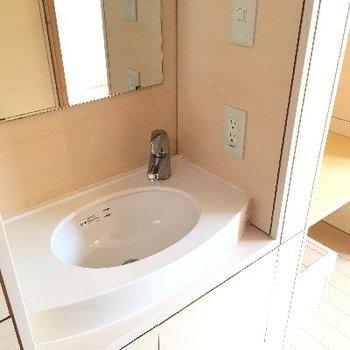 丸くて可愛い洗面器です!