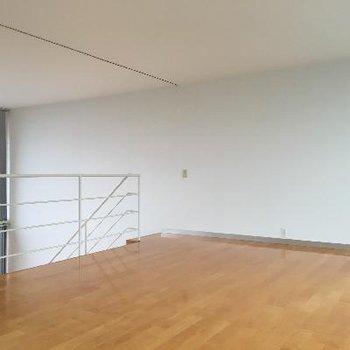 2階もかなりスペースがあります。約14帖も贅沢に使えちゃいます♪