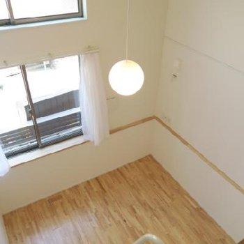 この天井の高さ!*写真は別室です