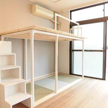 無垢×畳×階段=最高です!