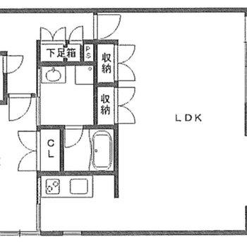 4階の角部屋ですね!