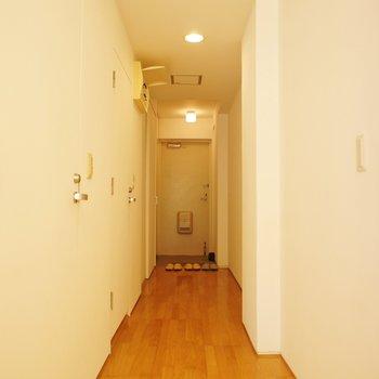 こっちは玄関側